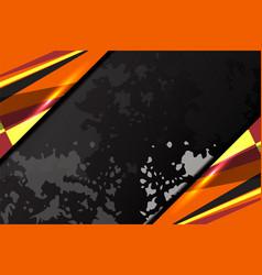 dark background grunge vector image vector image