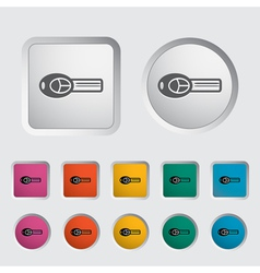 ignition key vector image