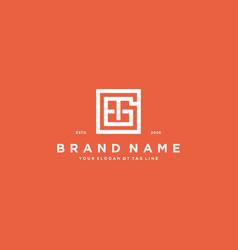 Letter gt logo design vector
