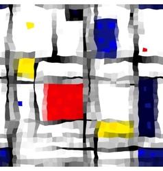 Like Mondrian vector