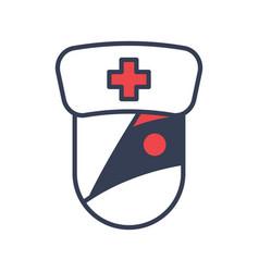 Medical halloween logo icon design vector
