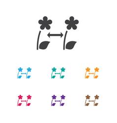 of gardening symbol on vector image