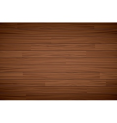 Texture of wooden dark brown background vector