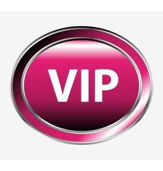VIP button vector