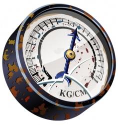 vintage pointer indicator vector image