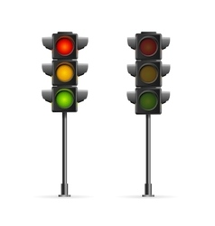 Road Traffic Light vector image