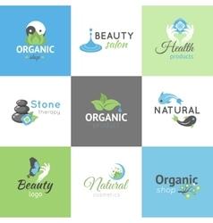 Beauty Design Logos vector image