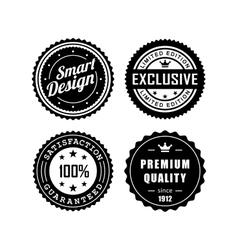 Vintage badges 3 vector