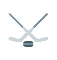 a hockey vector image