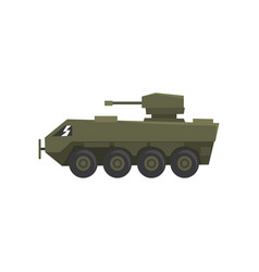 armored infantry vehicle army machine heavy vector image