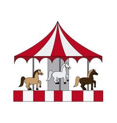 Carnival or fair icon image vector