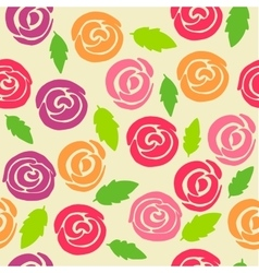 High quality original clolored seamlless pattern vector image