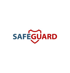 safe guard vector image