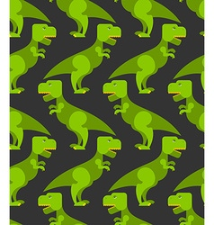 Tyrannosaurus t-rex seamless pattern Background of vector