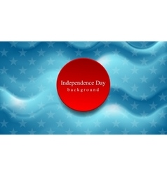 Abstract wavy usa colors background vector