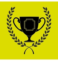 Award winner design vector image