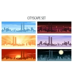 Cityscape Set vector