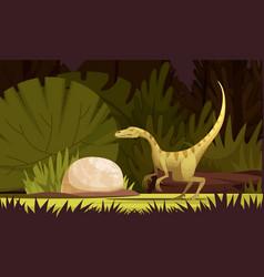 Dinosaurs cartoon i vector