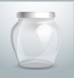 glassware for dairy products packaging design vector image