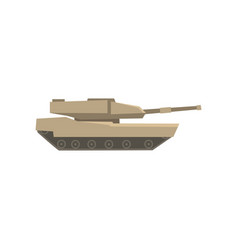military tank army machine heavy special vector image