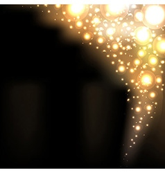 Golden Blur Background vector image