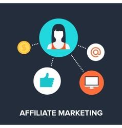 Affiliate Marketing vector image