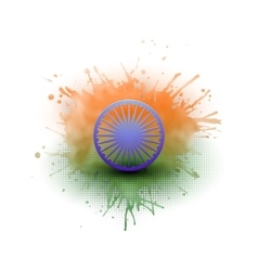 Background for Happy Indian Independence Day vector image