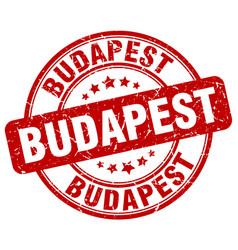 Budapest stamp vector