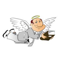 Corporate angel vector