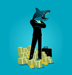 Loan shark vector