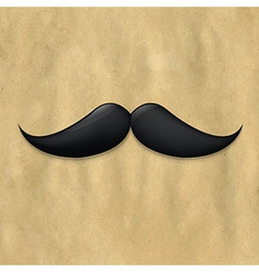 Moustaches On Old Paper vector image