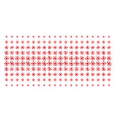 Spiral galaxy shape halftone grid vector