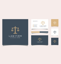 Symbol lawyer attorney advocate template linear vector