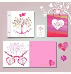 Wedding book vector