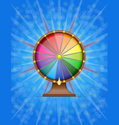 wheel of fortune stock vector image