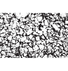 Distress Stones Texture vector image vector image