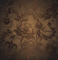 pattern dark vector image