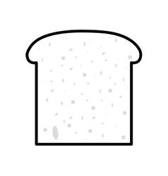 bread fresh bakery vector image
