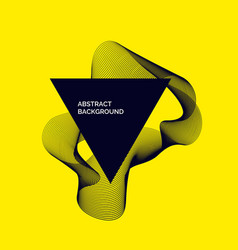 Modern abstract background with dynamic vector