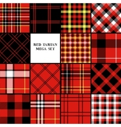 Scottish traditional tartan fabric seamless vector