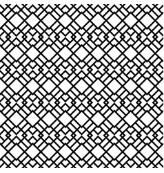 seamless pattern with rhombus shapes vector image
