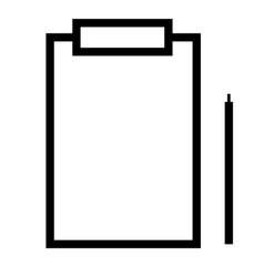 medical history icon vector image vector image