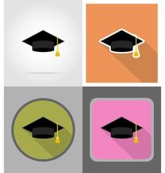 School education flat icons 03 vector