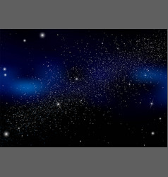 abstract background is a space with stars vector image