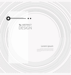 abstract circle modern simple line with space of vector image