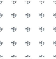 Arrow icon pattern seamless white background vector