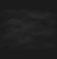 Empty chalk board vector