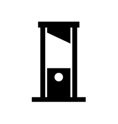 Guillotine icon vector