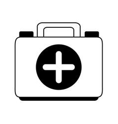 Medical health kit vector