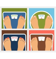 Weight control vector